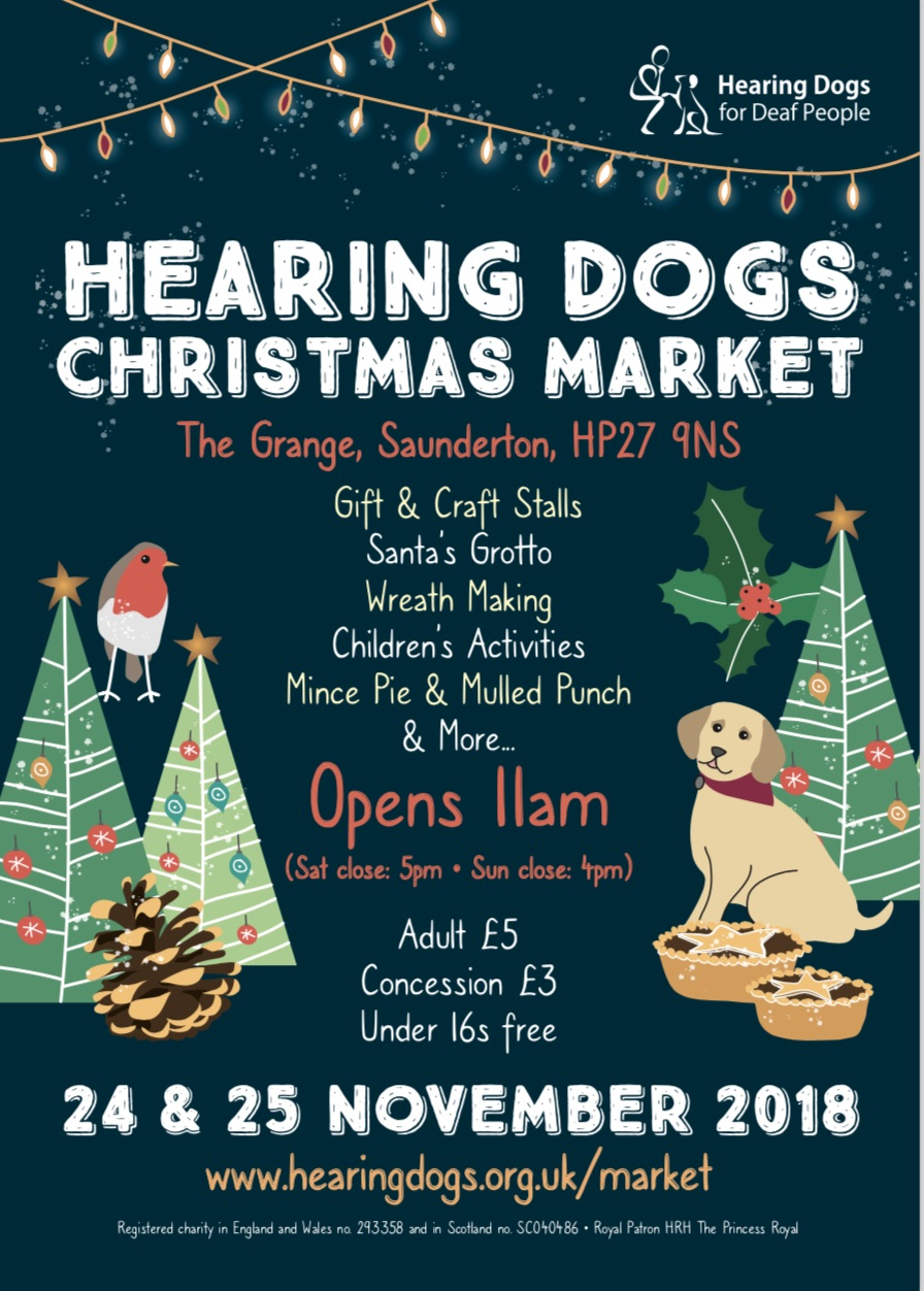 Hearing Dogs Christmas Market
