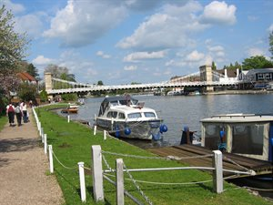 Scenic image of Marlow which has lots of things to do (Wycombe District).
