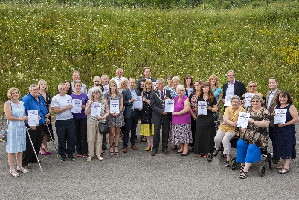 Wycombe Lotto 2nd birthday group shot July 2019