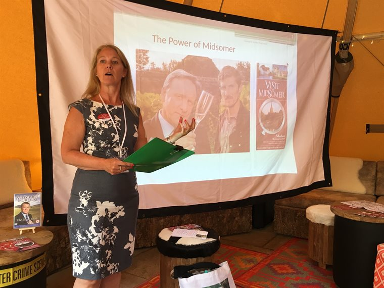 Midsomer Murders trail launch 17 July 2018 presentation smaller