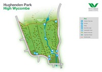 Download a PDF map of Hughenden Park